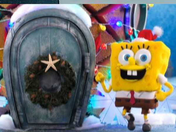 "Spongebob SquarePants: ""Santa Has His Eyes on Me"""