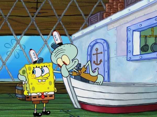 "SpongeBob SquarePants: ""Squid in Charge"""