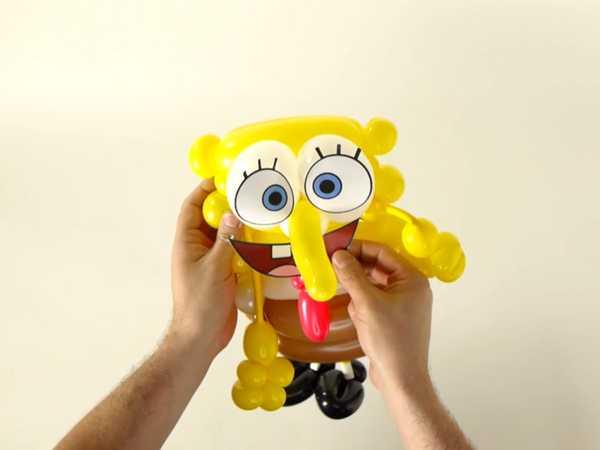 SpongeBob SquarePants: SpongeBob Balloon Art