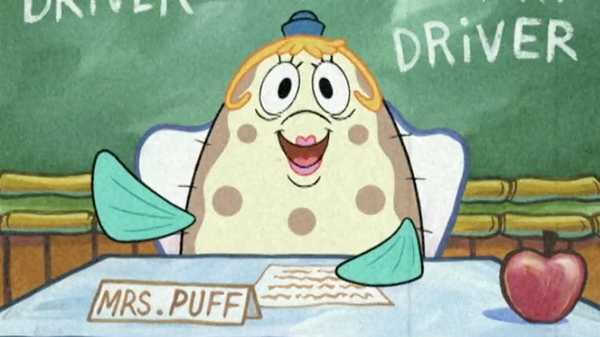 "SpongeBob SquarePants: ""Boating with Mrs. Puff"""