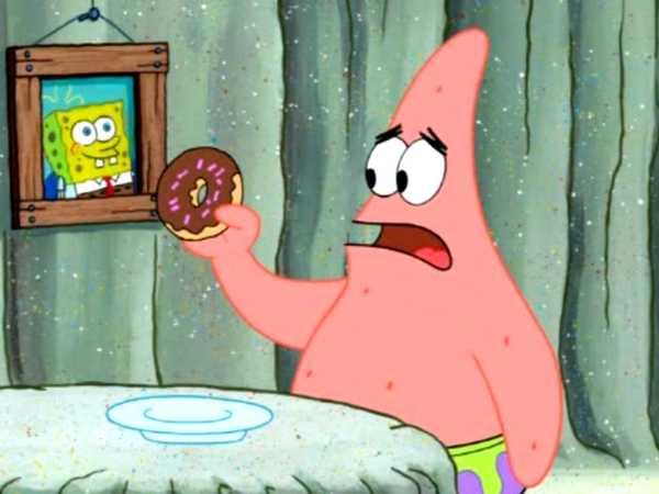 """SpongeBob SquarePants: """"Donut Of Shame"""""""
