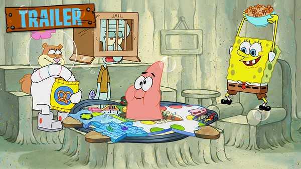 """SpongeBob SquarePants: """"Patrick! The Game Trailer"""""""