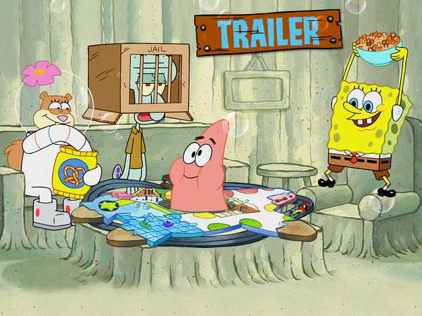 "SpongeBob SquarePants: ""Patrick! The Game Trailer"""