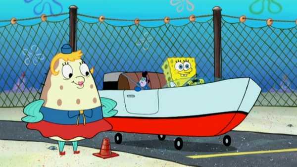 "SpongeBob SquarePants: ""Let's Roll"""
