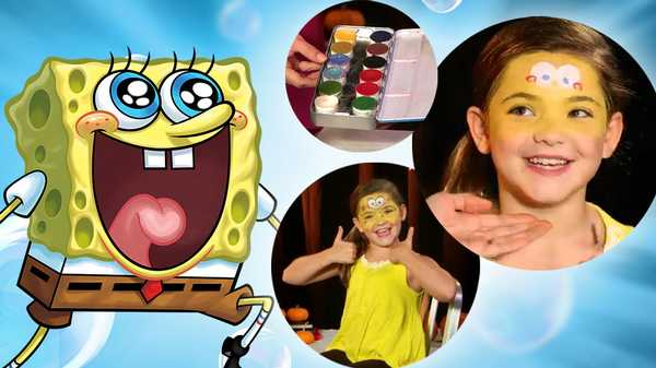 "SpongeBob SquarePants: ""SpongeBob Makeup Tutorial"""