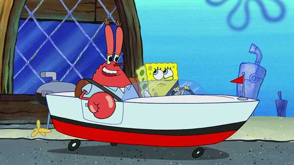 "SpongeBob Squarepants: ""Mr. Krab's Behind the Wheel"""
