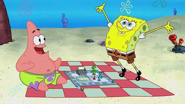 """SpongeBob SquarePants: """"Board Game Fun"""""""