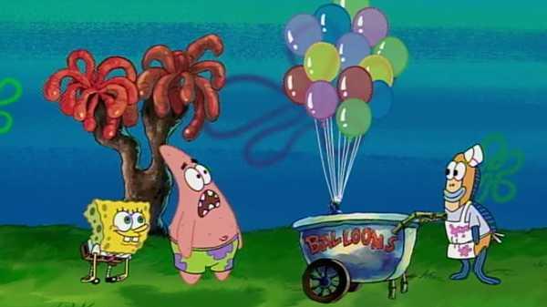 "SpongeBob SquarePants: ""Borrowing A Balloon"""
