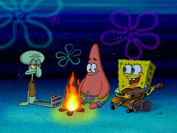 "SpongeBob SquarePants: ""Campfire Song Song"""