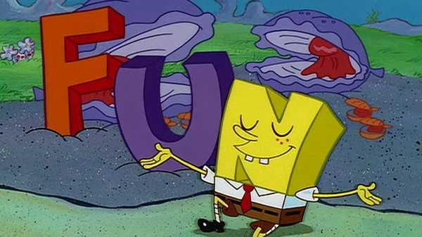 "SpongeBob SquarePants: ""FUN Song"""