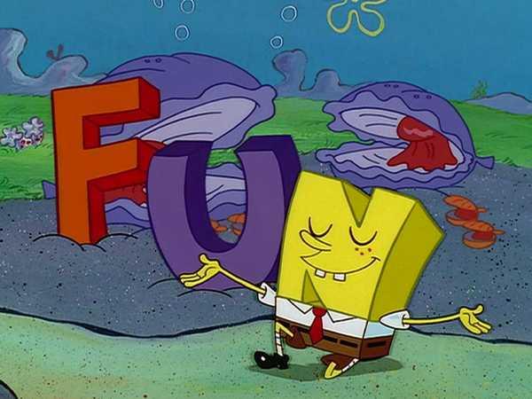 """SpongeBob SquarePants: """"FUN Song"""""""