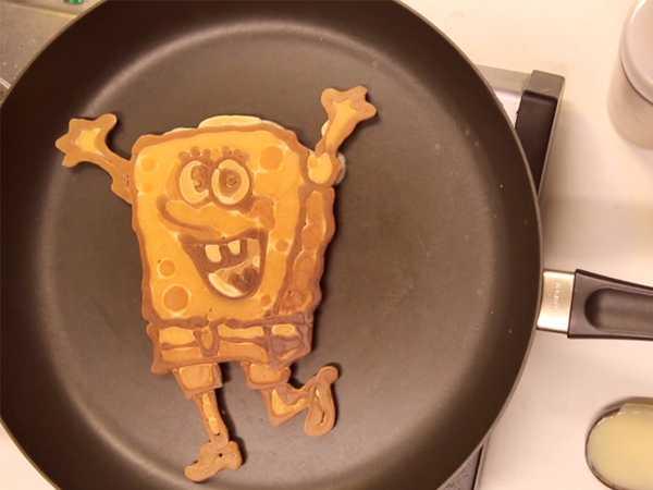 "SpongeBob SquarePants: ""SpongeBob Pancake Art"""