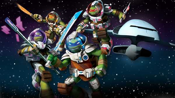"Teenage Music Ninja Turtles: ""Best of Space"""