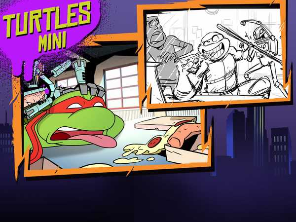 "Teenage Mutant Ninja Turtles: ""Pizza Friday"""