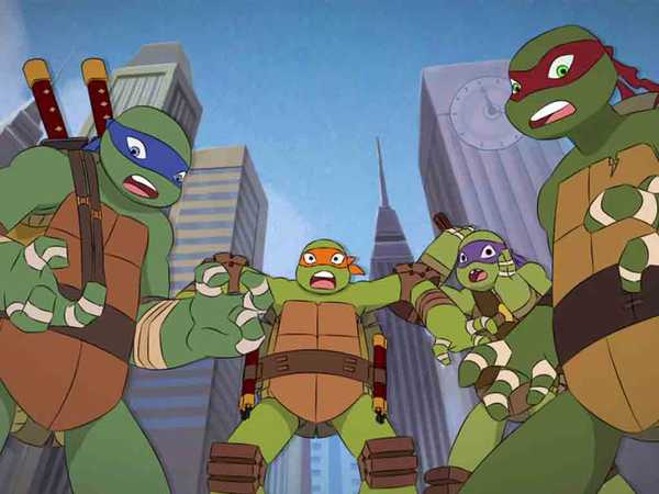 Teenage Mutant Ninja Turtles: The Trans-Dimensional Remix