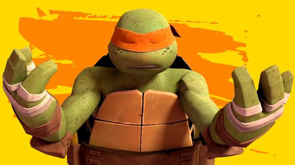 "Teenage Mutant Ninja Turtles: ""Deep Thoughts With Mikey"""