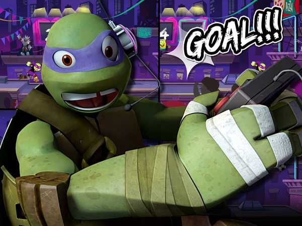 "Teenage Mutant Ninja Turtles: ""Let's Play Nick Soccer Stars"""