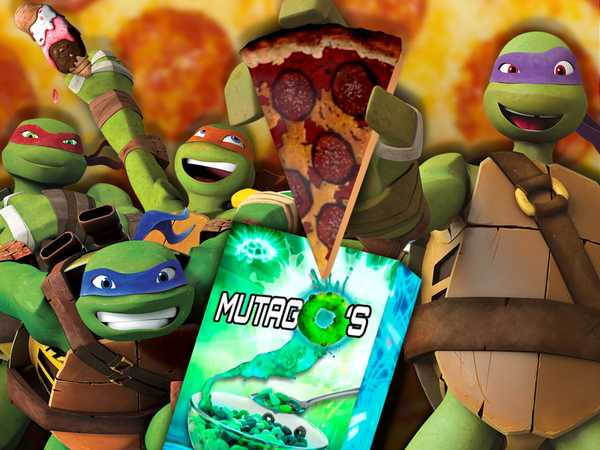 "Teenage Mutant Ninja Turtles: ""Tastiest Turtles Moments"""