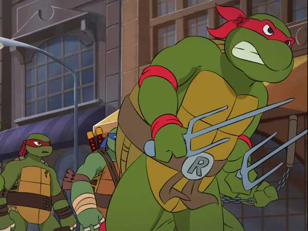 "Teenage Mutant Ninja Turtles: ""Fighting Together"""
