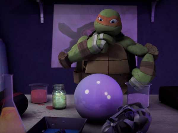 "Teenage Mutant Ninja Turtles: ""The Creeping Doom: DO NOT TOUCH!"""