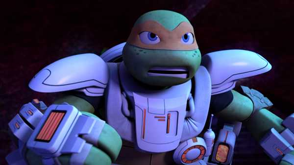 "Teenage Mutant Ninja Turtles: ""A Space Standoff"""