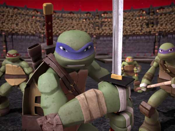 "Teenage Mutant Ninja Turtles: ""Vulnerable Spot"""