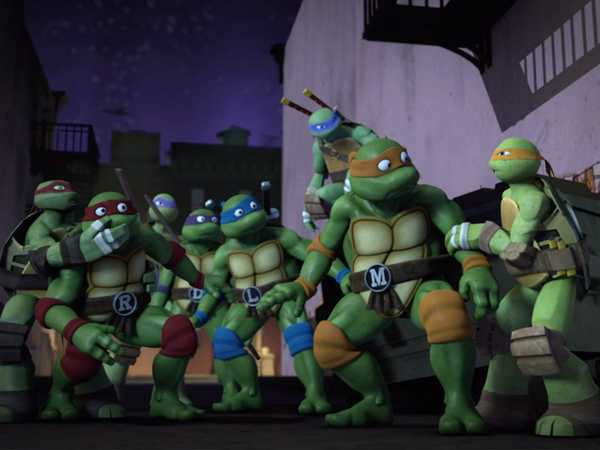 "Teenage Mutant Ninja Turtles: ""Another Dimension"""