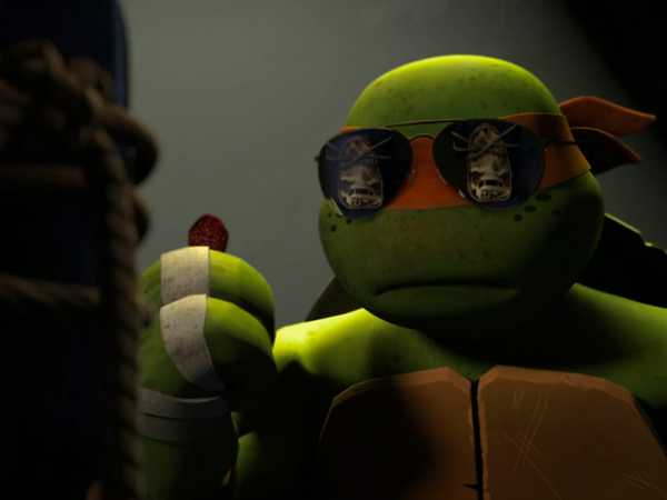 "Teenage Mutant Ninja Turtles: ""Bad Cop Mikey"""
