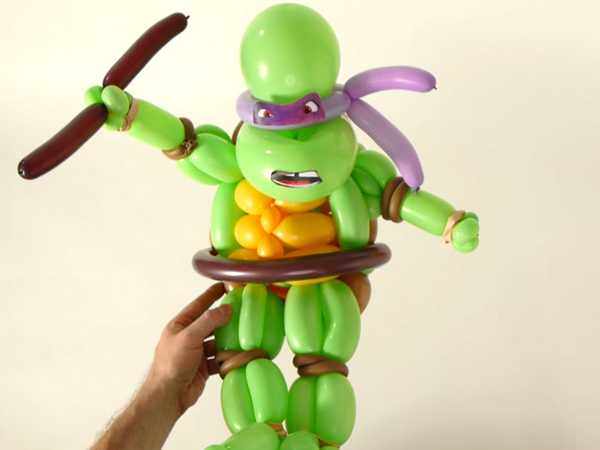 "Teenage Mutant Ninja Turtles: ""Radical Balloon Art"""