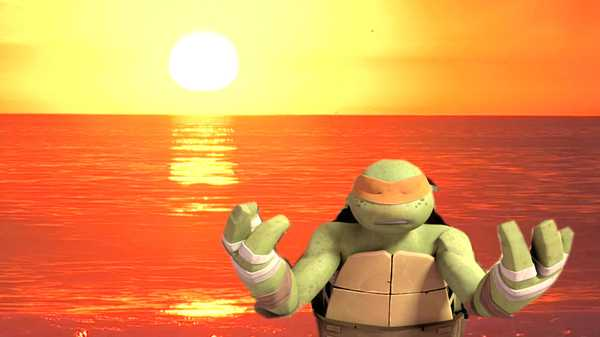 "Teenage Mutant Ninja Turtles: ""Deeper Thoughts with Mikey"""