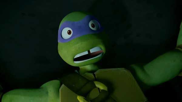 """Teenage Mutant Ninja Turtles: """"Donnie vs. Rockwell"""""""