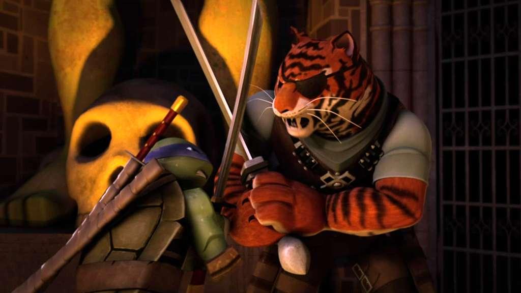 """Teenage Mutant Ninja Turtles: """"Fighting Bebop's Friends"""""""