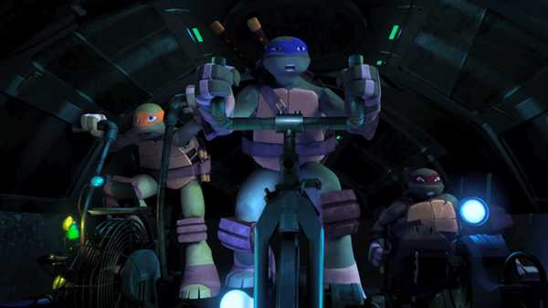 "Teenage Mutant Ninja Turtles: ""Karai's Vendetta: Green Submarine"""
