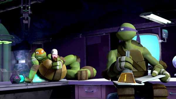 """Teenage Mutant Ninja Turtles: """"Ice Cream Mess"""""""
