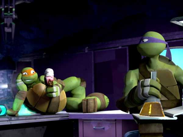 "Teenage Mutant Ninja Turtles: ""Ice Cream Mess"""