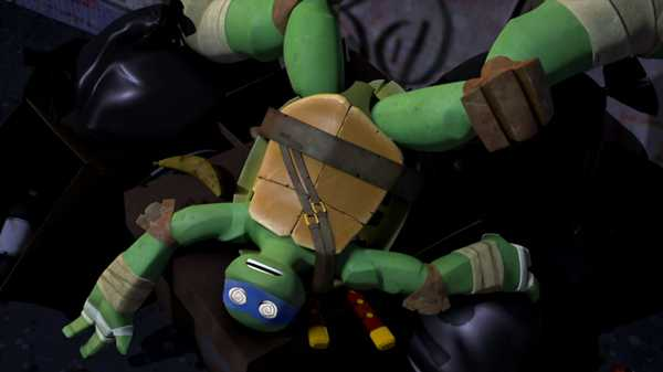 "Teenage Mutant Ninja Turtles: ""Leo's Ninja Fail"""
