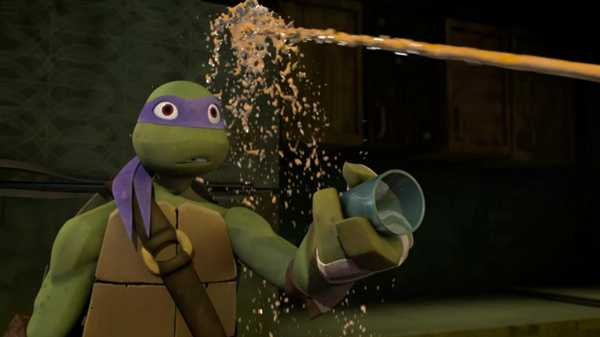 "Teenage Mutant Ninja Turtles: ""Ninja Breakfast"""