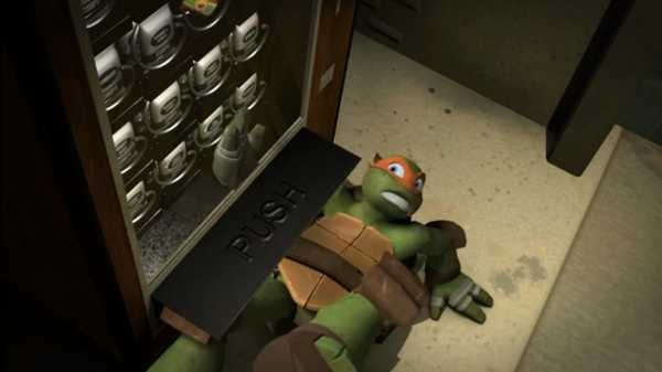 "Teenage Mutant Ninja Turtles: ""Pizzarrito"""