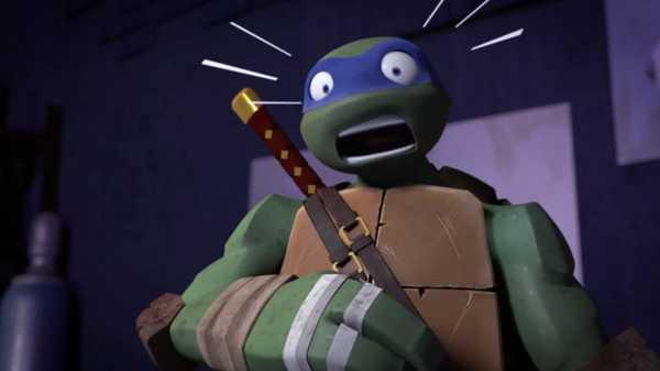 "Teenage Mutant Ninja Turtles: ""Squirrel Attack"""