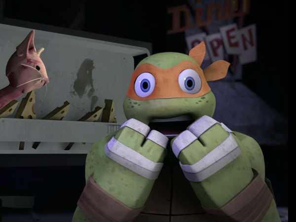 """Teenage Mutant Ninja Turtles: """"Where's Leo?"""""""