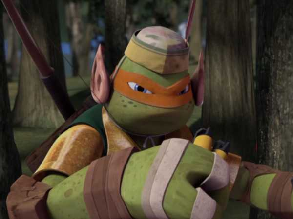 "Teenage Mutant Ninja Turtles: Tale of the Yokai: ""When Are We?"""