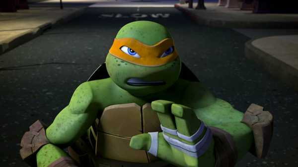 "Teenage Mutant Ninja Turtles: ""Mikey Fights Back"""