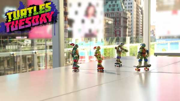 """Teenage Mutant Ninja Turtles: """"Turtle Fails"""""""
