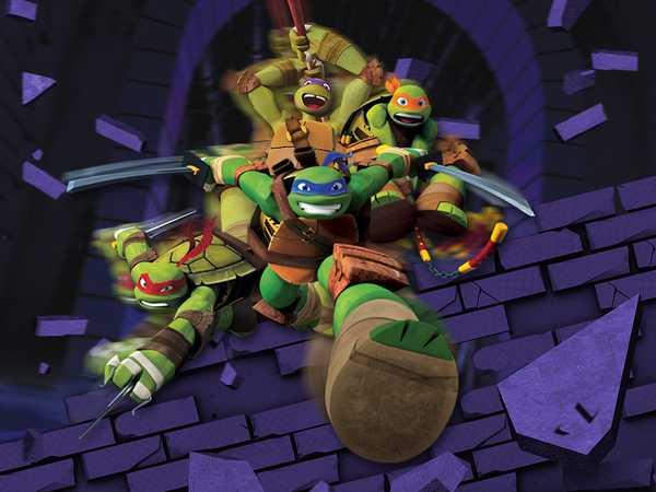 """Teenage Mutant Ninja Turtles: """"Turtle's Slo-Mo-Ments"""""""