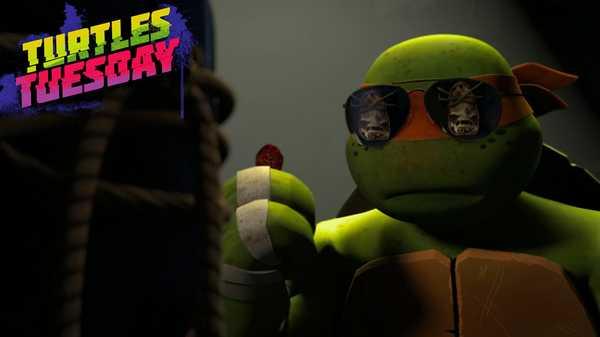 "Teenage Mutant Ninja Turtles: ""Bad Cop Mikey"""