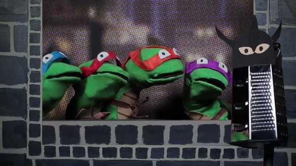 """Teenage Mutant Ninja Turtles: """"Sock Puppet Theater"""""""