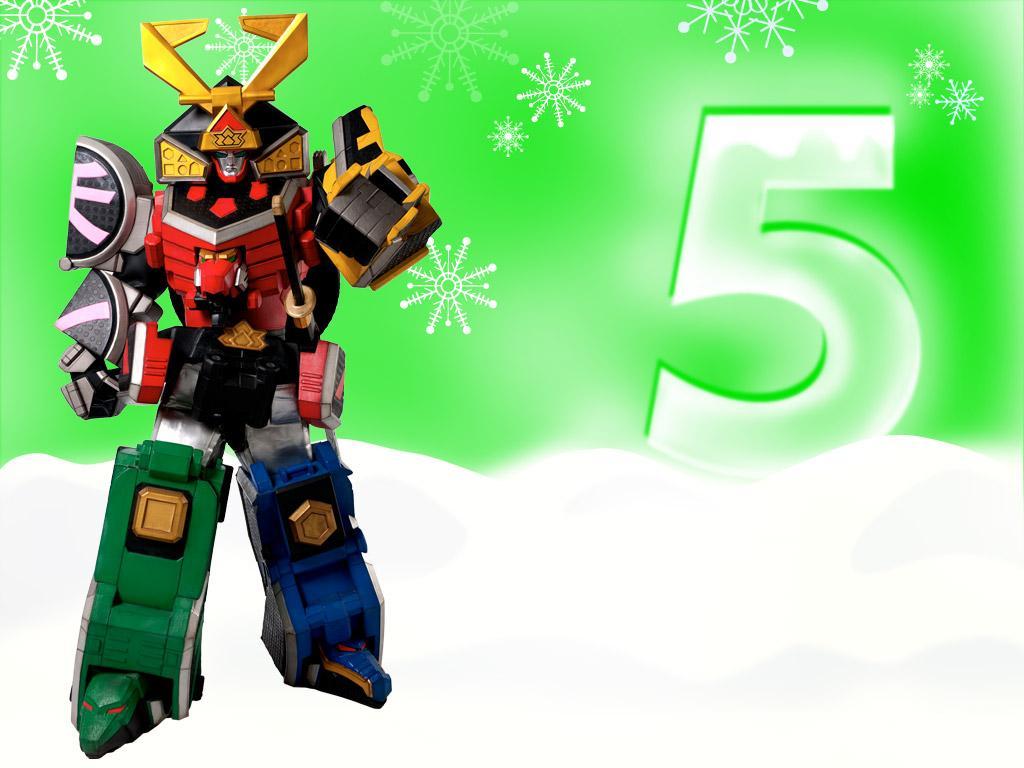 5 Ranger Zords