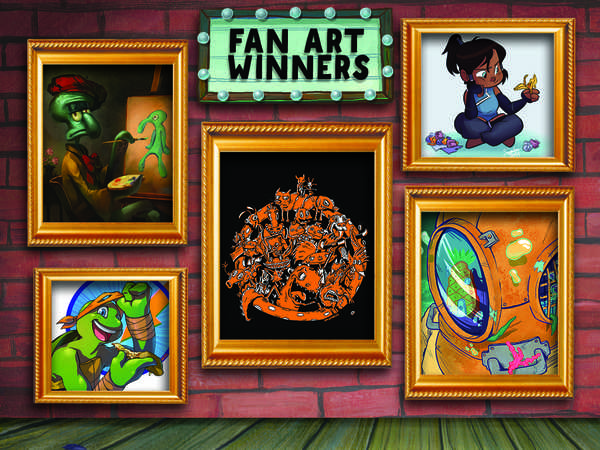 Nick Fan Art Competition Winners!