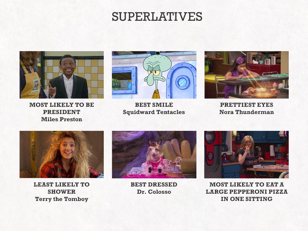 The Superlatives