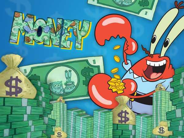 "SpongeBob Squarepants: ""Me Money Mix"""